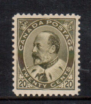 Canada #94 XF/NH **With Certificate**
