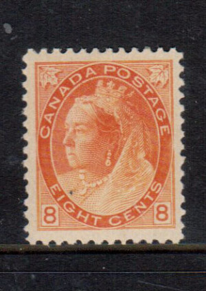 Canada #82 XF/NH **With Certificate**