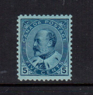 Canada #91 VF+/NH **With Certificate**