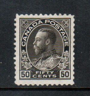 Canada #120a VF/NH **With Certificate**