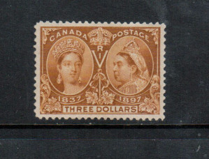 Canada #63 XF/NH Gem **With Certificate**