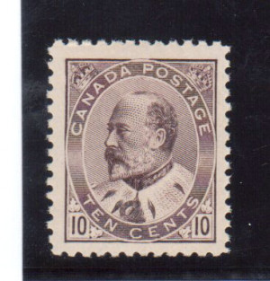 Canada #93 XF/NH Gem **With Certificate**