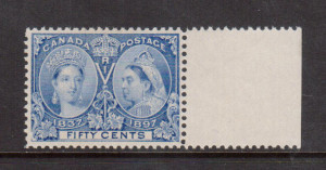 Canada #60 XF/NH Gem **With Certificate**