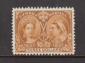 Canada #63 VF/NH **With Certificate**