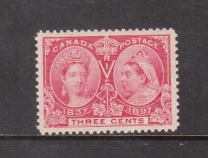 Canada #53 NH Mint Superb Gem **With Certificate**