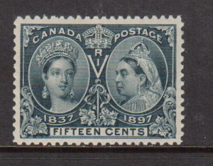 Canada #58 XF/NH Gem Graded XF-90 **With Certificate**