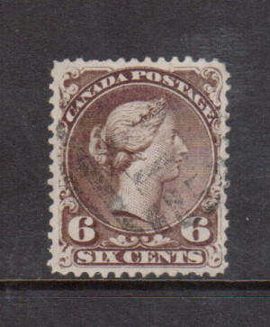 Canada #27b XF Used **With Certificate**