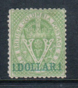 British Columbia #18 XF Mint **With Certificate**