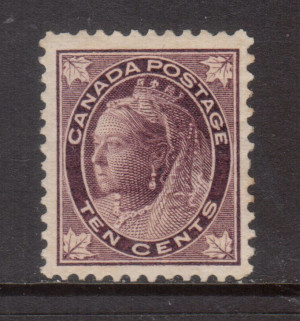 Canada #73ii VF/NH **With Certificate**
