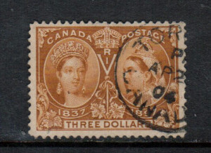 Canada #63 VF Used With Toronto 1904 CDS Cancel **With Certificate**