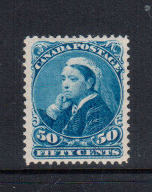 Canada #47 XF/NH Perfect Gum **With Certificate**